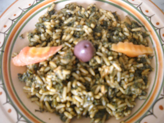 Recette riz djerbien l 39 escalope rouz jerbi - Combien de gramme de riz par personne ...